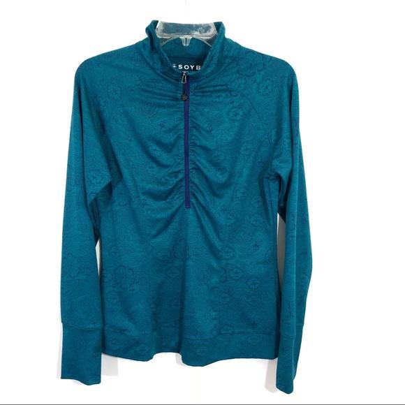 Soybu Womens Maura 1//2 Zip Pullover